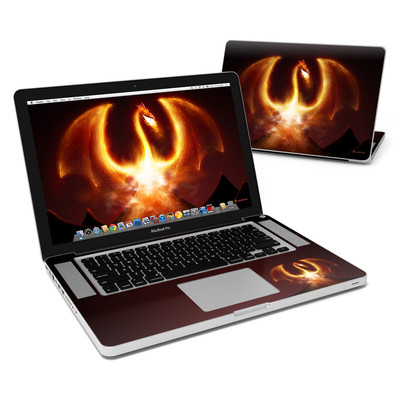 MacBook Pro 15in Skin - Fire Dragon