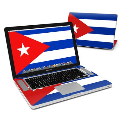 MacBook Pro 15in Skin - Cuban Flag