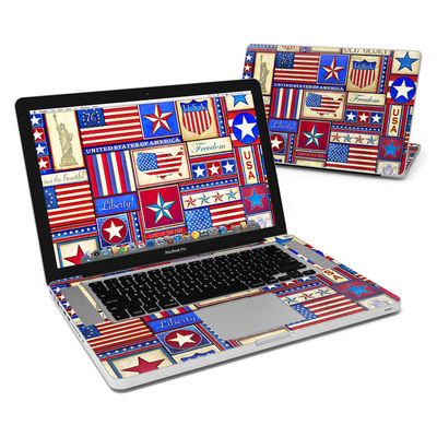 MacBook Pro 15in Skin - Flag Patchwork