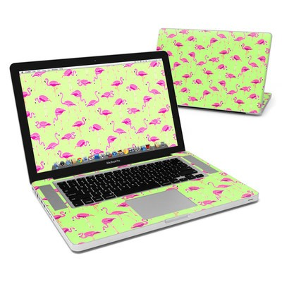 MacBook Pro 15in Skin - Flamingo Day