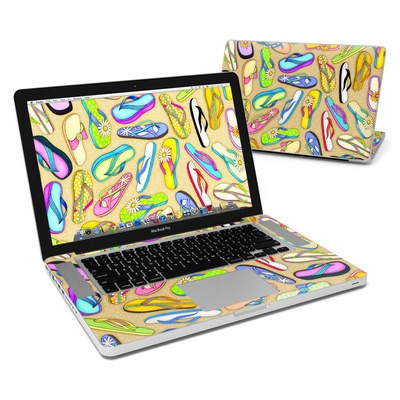 MacBook Pro 15in Skin - Flip Flops