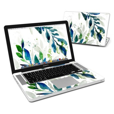 MacBook Pro 15in Skin - Floating Leaves