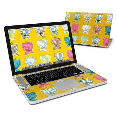 MacBook Pro 15in Skin - Flower Cups