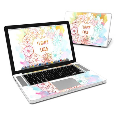 MacBook Pro 15in Skin - Flower Child