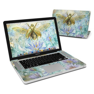 MacBook Pro 15in Skin - When Flowers Dream