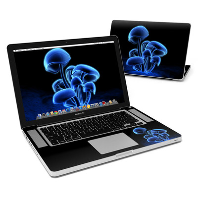 MacBook Pro 15in Skin - Fluorescence Blue