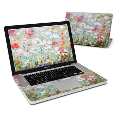 MacBook Pro 15in Skin - Flower Blooms