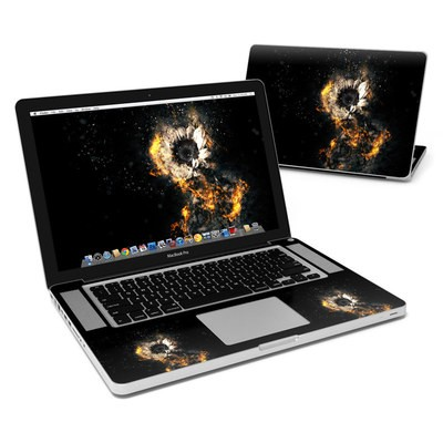MacBook Pro 15in Skin - Flower Fury