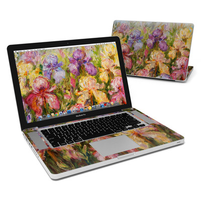 MacBook Pro 15in Skin - Field Of Irises