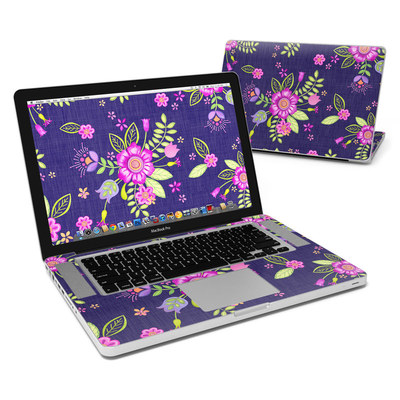 MacBook Pro 15in Skin - Folk Floral