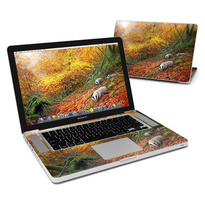 MacBook Pro 15in Skin - Forest Gold