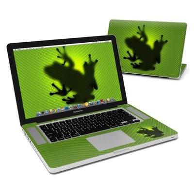 MacBook Pro 15in Skin - Frog