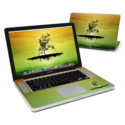 MacBook Pro 15in Skin - Flying Tree Amber