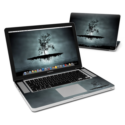 MacBook Pro 15in Skin - Flying Tree Black