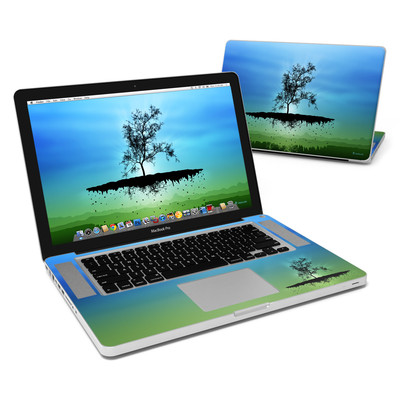 MacBook Pro 15in Skin - Flying Tree Blue