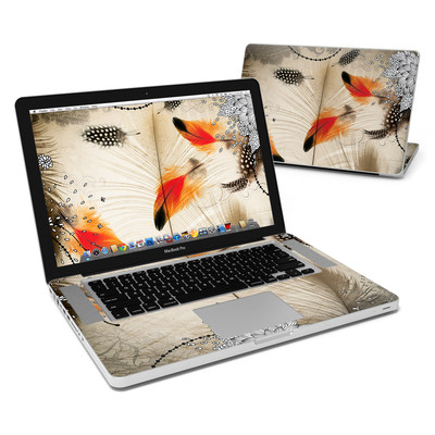 MacBook Pro 15in Skin - Feather Dance