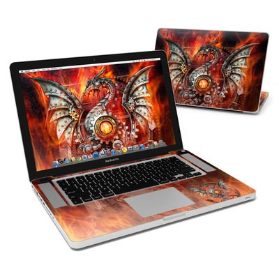 MacBook Pro 15in Skin - Furnace Dragon
