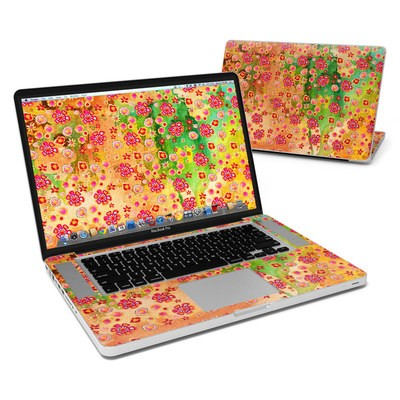 MacBook Pro 15in Skin - Garden Flowers