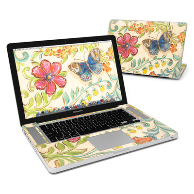 MacBook Pro 15in Skin - Garden Scroll