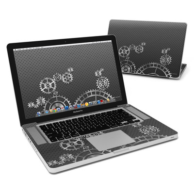 MacBook Pro 15in Skin - Gear Wheel