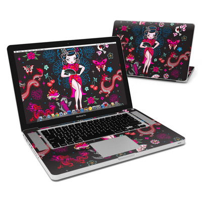 MacBook Pro 15in Skin - Geisha Gal