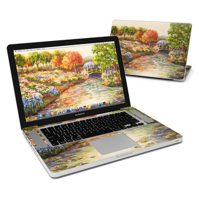 MacBook Pro 15in Skin - Giverny Forever