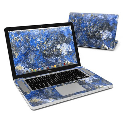 MacBook Pro 15in Skin - Gilded Ocean Marble