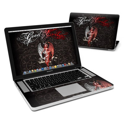 MacBook Pro 15in Skin - Good and Evil