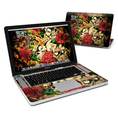 MacBook Pro 15in Skin - Gothic Tattoo