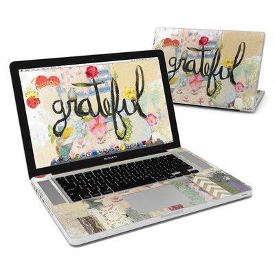 MacBook Pro 15in Skin - Grateful