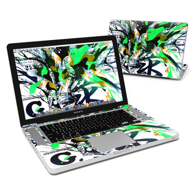 MacBook Pro 15in Skin - Green 1