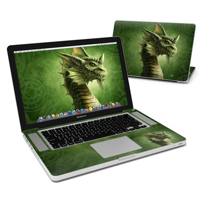 MacBook Pro 15in Skin - Green Dragon