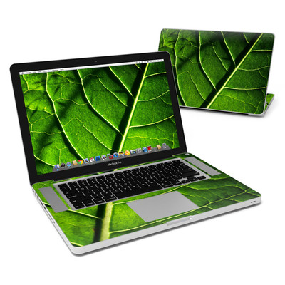 MacBook Pro 15in Skin - Green Leaf