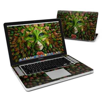 MacBook Pro 15in Skin - Green Woman