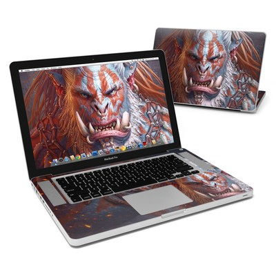 MacBook Pro 15in Skin - Gruddur Orangefist