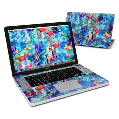MacBook Pro 15in Skin - Harlequin Seascape