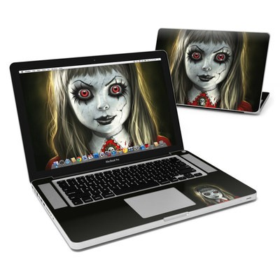 MacBook Pro 15in Skin - Haunted Doll