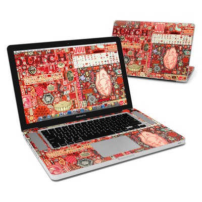 MacBook Pro 15in Skin - Heart and Teeth