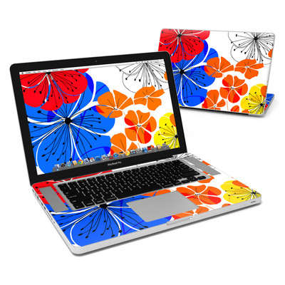MacBook Pro 15in Skin - Hibiscus Dance