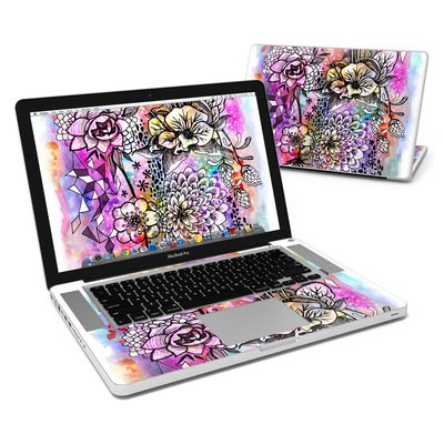 MacBook Pro 15in Skin - Hot House Flowers