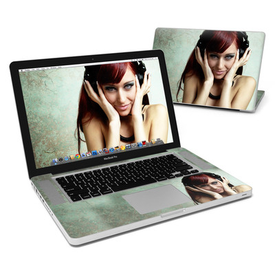 MacBook Pro 15in Skin - Headphones