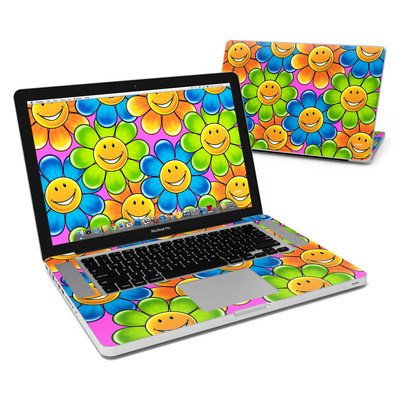 MacBook Pro 15in Skin - Happy Daisies