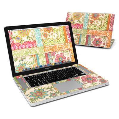 MacBook Pro 15in Skin - Ikat Floral
