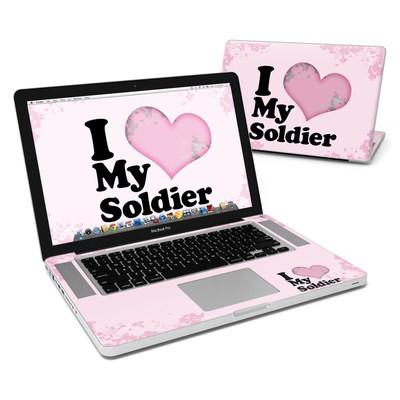 MacBook Pro 15in Skin - I Love My Soldier