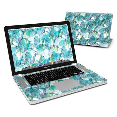 MacBook Pro 15in Skin - Iris Petals