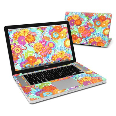 MacBook Pro 15in Skin - Jubilee Blooms