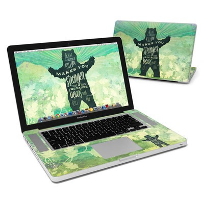 MacBook Pro 15in Skin - What Doesnt Kill You