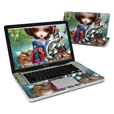 MacBook Pro 15in Skin - Kirin and Bakeneko