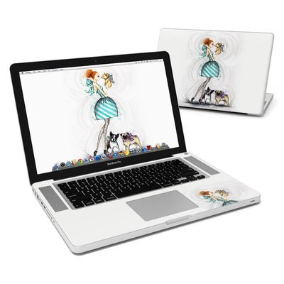 MacBook Pro 15in Skin - A Kiss for Dot