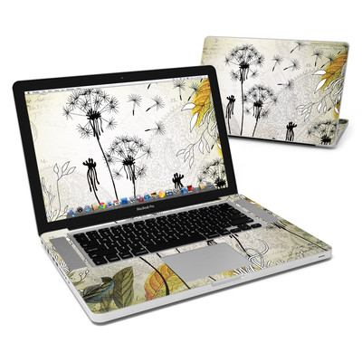 MacBook Pro 15in Skin - Little Dandelion